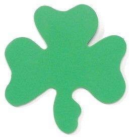 Darice Irish St Patricks Shamrocks  Foam Shapes 12pk 5.75 Inch