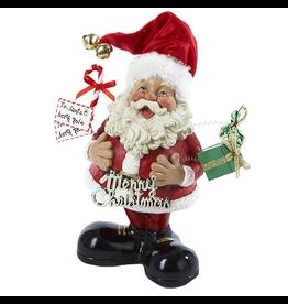 Kurt Adler Fabriche Santa Bobble Wobbling Tablepiece F0285 KSA Collectibles