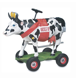 Cow Parade Cow Parade 9144 Buckle Up Betsy Cow Figurine