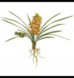 Winward Flowers Floral 95302.YL Orchid Cluster Cymbidium Yellow