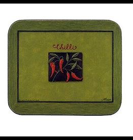 Jason Chilli Verde Hardboard Lunch Placemats SM 11.5x8.5