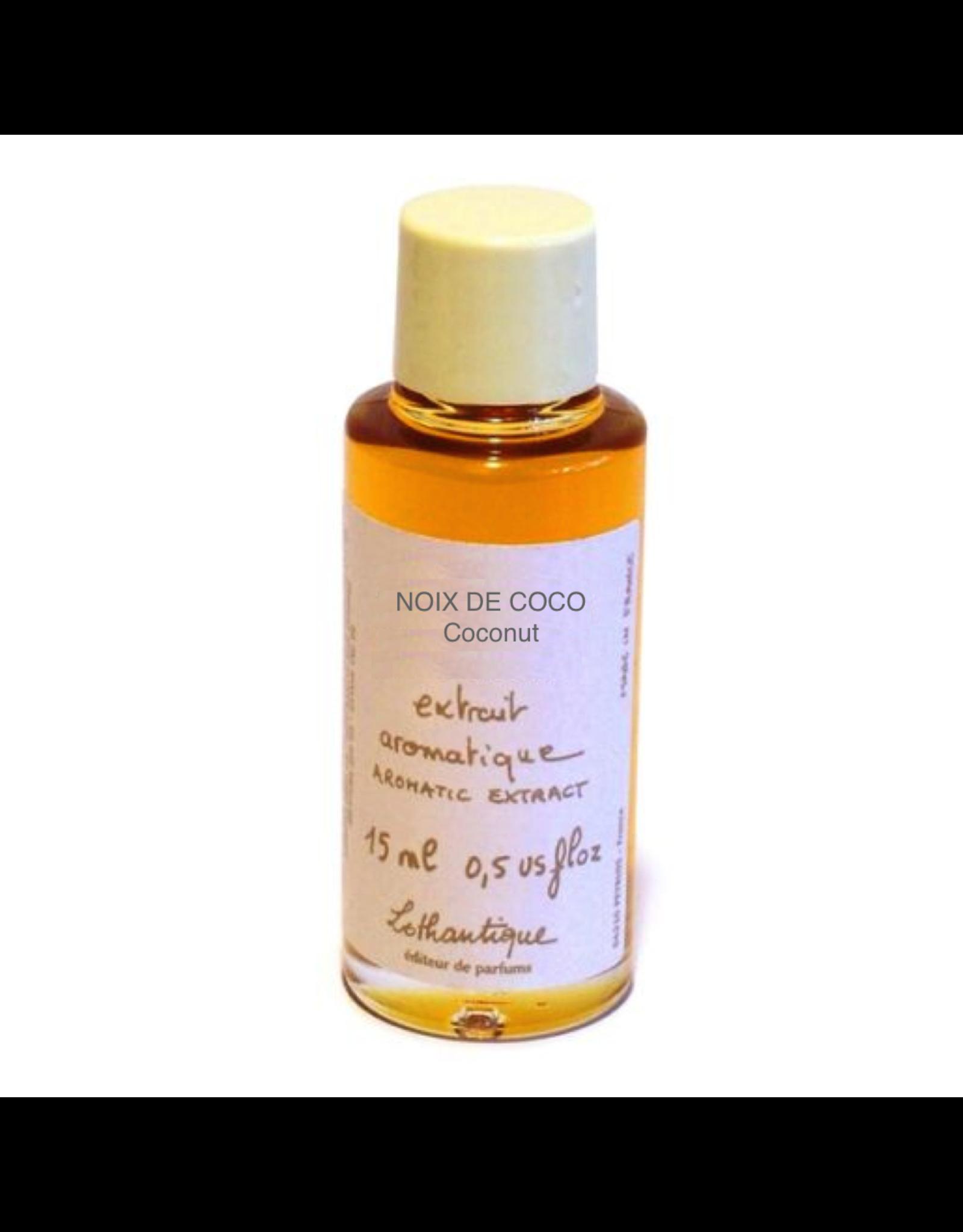Lothantique Aromatic Extract Essential Perfume Oil 15ml Coconut
