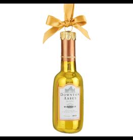 Kurt Adler Downton Abbey Wine Bottle Blanc