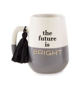 Mud Pie Grad Tassel Mug For Graduates The Future Is Bright