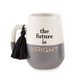 Mud Pie Grad Tassel Mug For Graduates The Future Is Bright