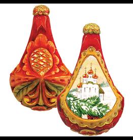 DeBrekht Artistic Studios Ice Palace Ornament