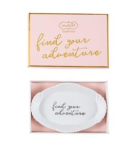 Mud Pie Grad Trinket Dish For Graduates Find Your Adventure