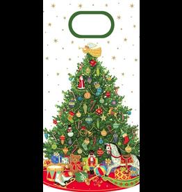 Caspari Christmas Favor Gift Bags 8pk Oh Christmas Tree Favor Bags