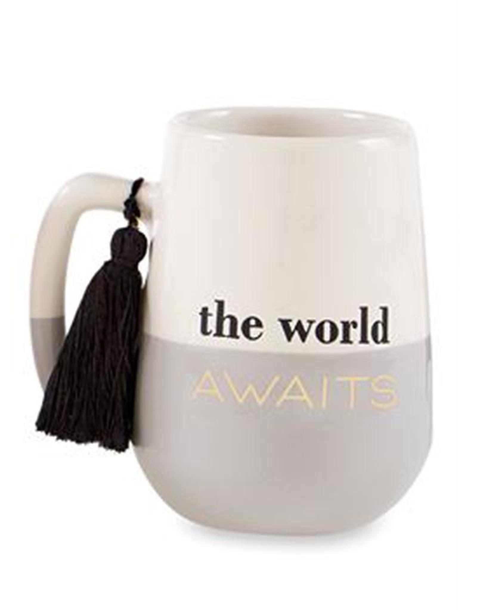 Mud Pie Grad Tassel Mug For Graduates The World Awaits