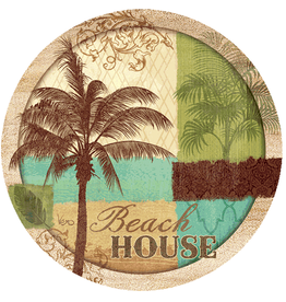 Thirstystone Coasters Set of 4 Palm Resort
