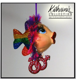 Katherine's Collection Pride Kissing Fish