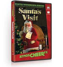 AtmosFEARfx Santas Visit Digital Christmas Decorations DVD