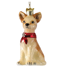 Kurt Adler Glass Chihuahua Ornament Noble Gems