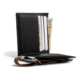 Classic Leather Wallet in Black