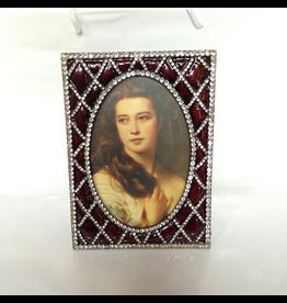 Winward Jeweled Oval Frame 7.25H x 5.25 W