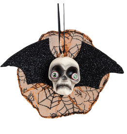 Gallerie II Joe Spencer Halloween Ornament Skull Headed Bat 5 Inch