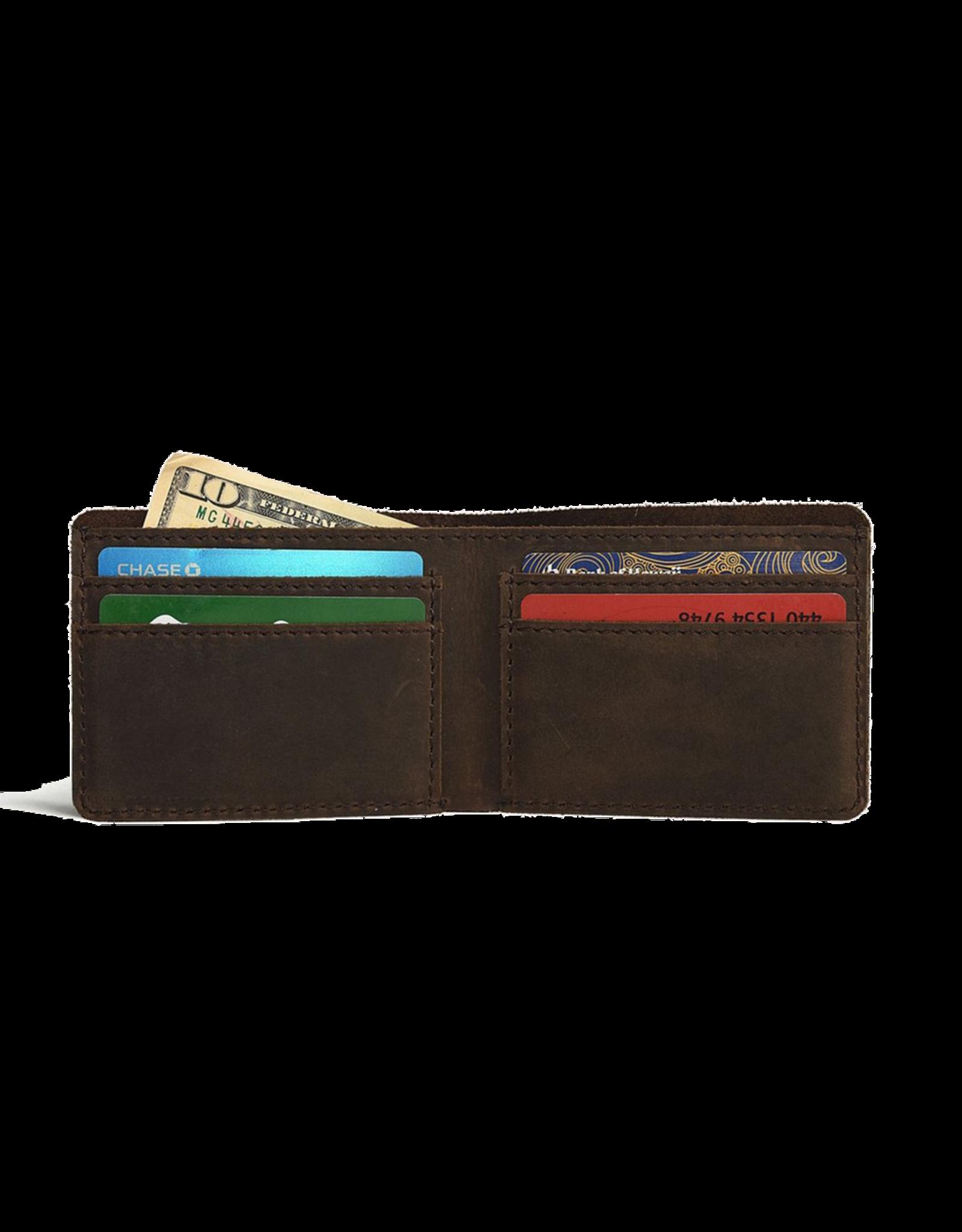 Step Up Wallet Brown