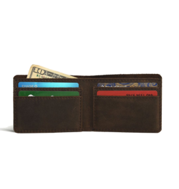 Step Up Wallet Brown