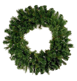 Darice Christmas Wreath 24 inch Mixed Pine Wreath Holiday Decor