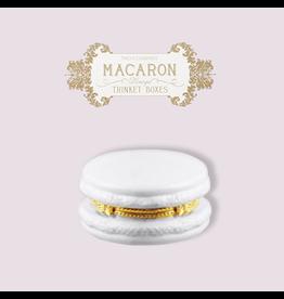 Twos Company Macaron Limoge Trinket Box 8866 Light Lavender