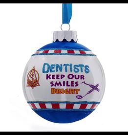 Kurt Adler Christmas Ornament Dentist Keep Our Smiles Bright