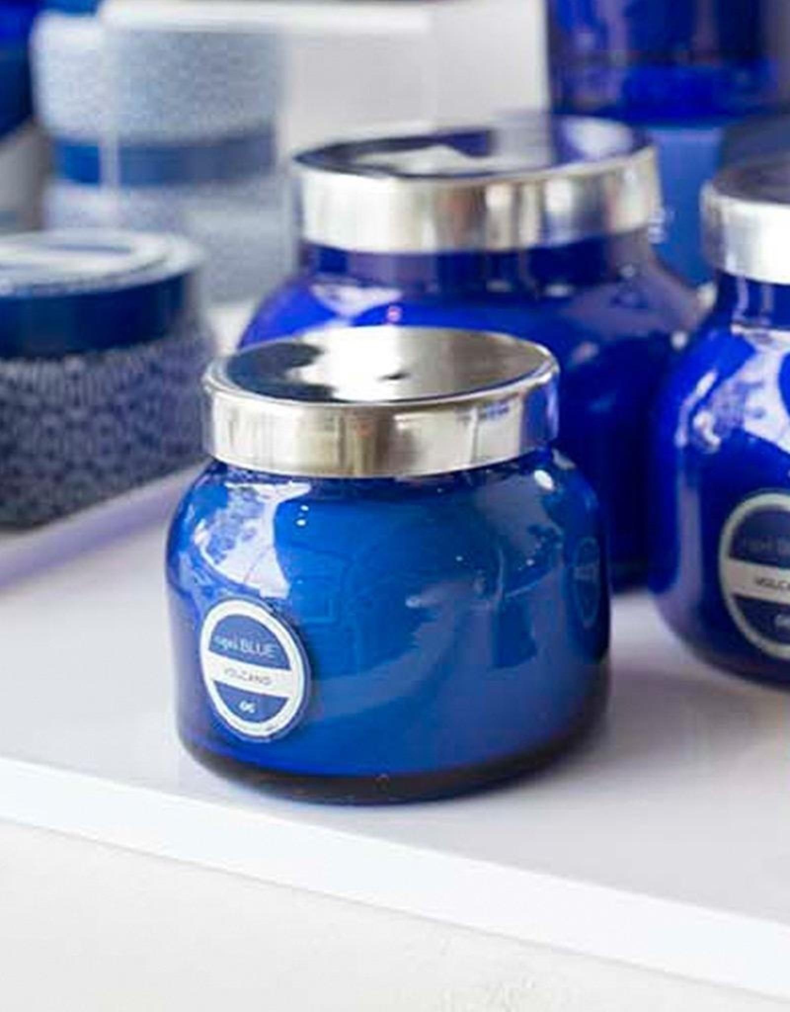 capri BLUE Volcano Candle Blue Petite Jar 8 Oz