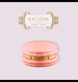 Twos Company Macaron Limoge Trinket Box 8866 Rose