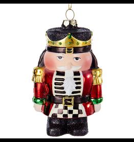 Kurt Adler Christmas Ornament Nutcracker Red