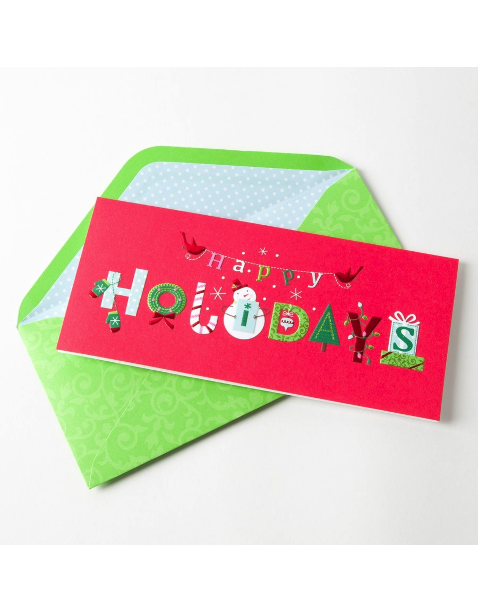 PAPYRUS® Boxed Christmas Cards Happy Holidays Lettering 16pk