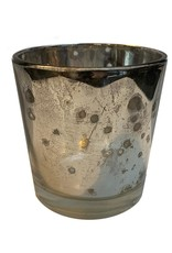 Mud Pie Mercury Glass Votive 2Dia x 2.25H