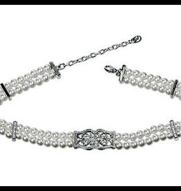 Annaleece Necklace 1100 Pearl Essence Choker 12-14 inch