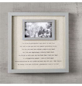 Mud Pie Grandparents Frame With Sentimental Poem