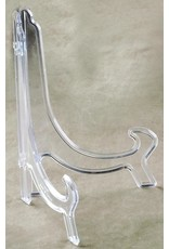 Tripar International Classic Plate Stand Easel Clear Plastic 9 Inch