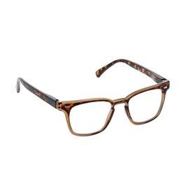 Reading Glasses Stut Blue Light Tortoise-Tan +2.00