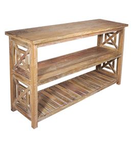 Regina Andrew Design Wood Console Table 30x18x52 In Store Pick Up Only