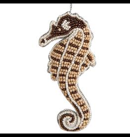 Gallerie II Bahamas Beaded Seahorse Ornament