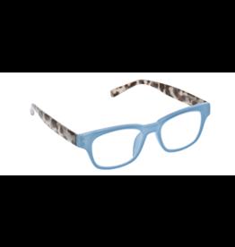 Reading Glasses Vintage Vibe Blue Light Blue Gray Tortoise +2.50