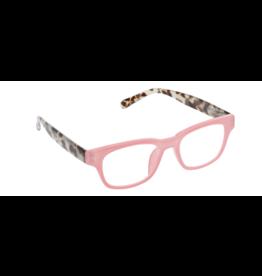 Reading Glasses Vintage Vibe Blue Light Pink Gray Tortoise +2.25