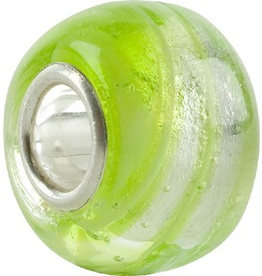 Chamilia Charm Murano Glass Bead O-14 Swirl Apple