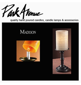 Park Avenue Candles Lamps Bases Madison 10.75H
