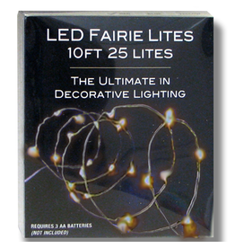 Kurt Adler Christmas LED Warm White Fairy String Lights