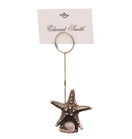 Zodax Starfish Place Card Holder Zodax Gifts CH-3682