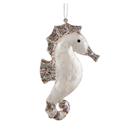 Gallerie II Shimmery Seahorse Christmas Ornament