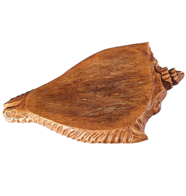 Gallerie II Conch Shell Carved Wood Cutting Board 16.5x11.5 inch by Gallerie II