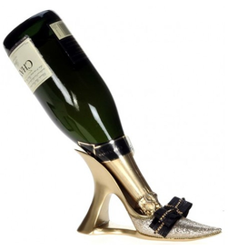 Mark Roberts Stylish Home Decor High Heel Shoe Wine Bottle Holder