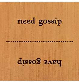 Danielson Designs Flip Flops Bamboo Sign PB124 Have gossip - Need gossip