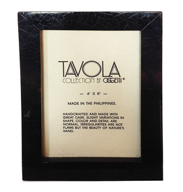 Oggetti Tavola Collection 4x6 Frame Slim MPS Black