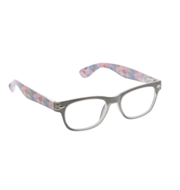 Reading Glasses Soul Surfer Gray Sunset Geo +2.50