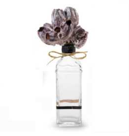 Mud Pie Home Accent 107249-A Natural Shell Large on Glass Bottle