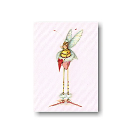 Patience Brewster Cards Valentine Bee Tiny Gift Card